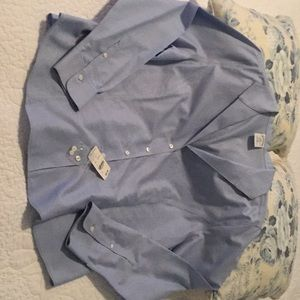 New! Women's blue shirt from Brooks Brothers